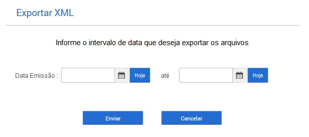 ERP Online - Gerar XML para seu contador